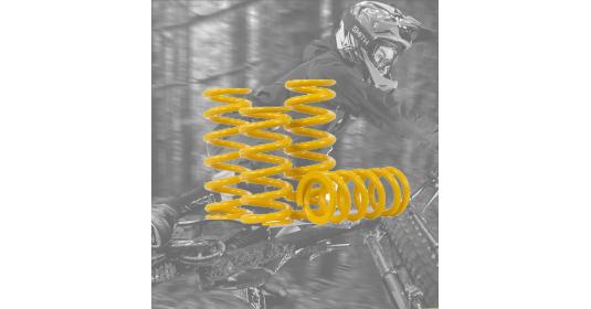 Muelles para suspensiones de MTB