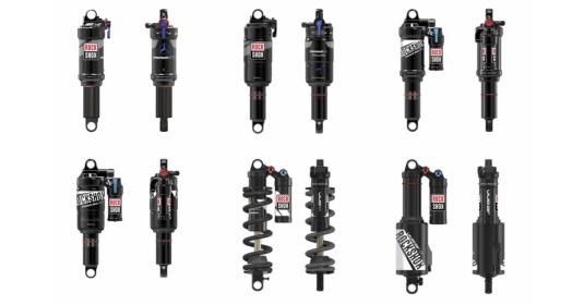 Venta de amortiguadores para bicicletas de MTB